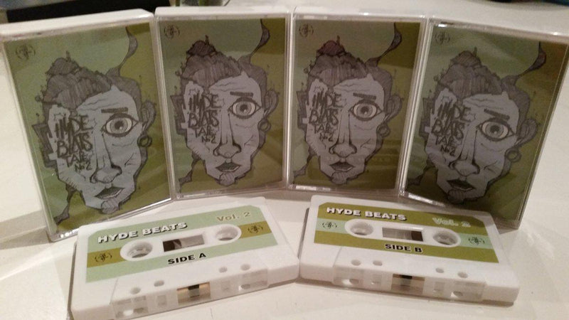 HYDE Beats - Beats Vol.2 [Cassette Tape]-Not On Label-Dig Around Records