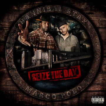 Hannibal Stax & Marco Polo - Seize The Day [Black] [Vinyl Record / 2 x LP]