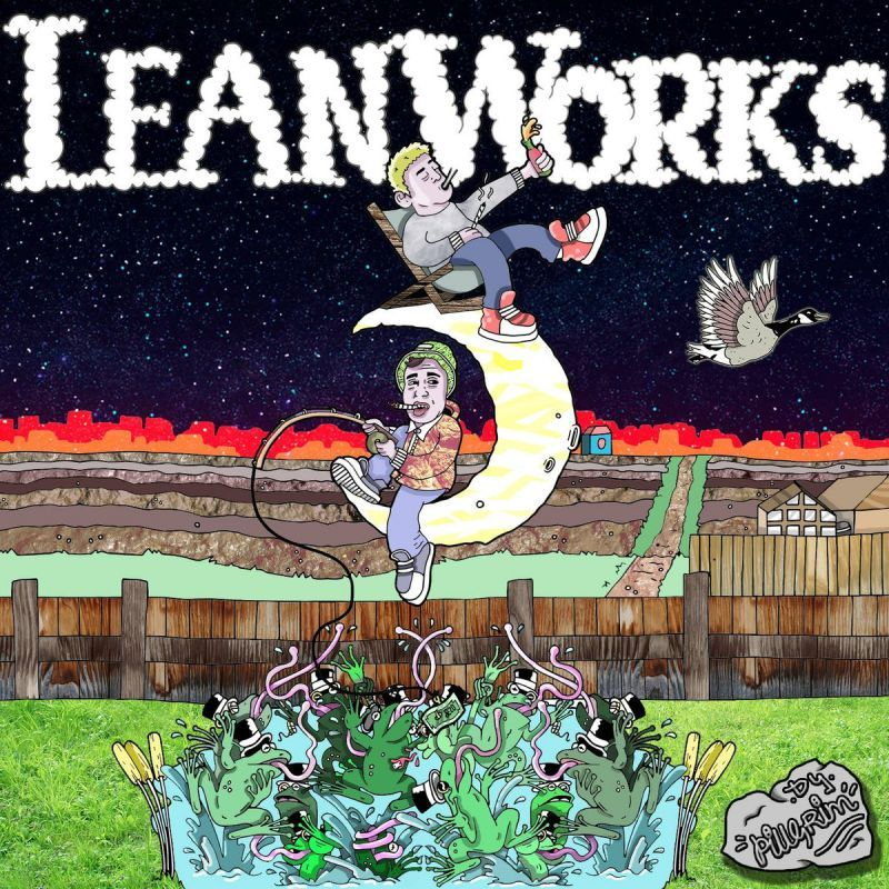 Harvs & KLB - LeanWorks 【CD】-YOGOCOP RECORDS-Dig Around Records