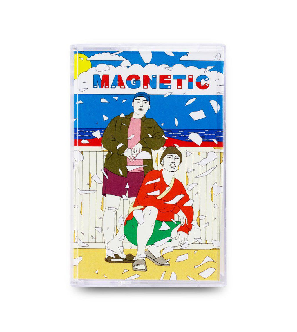 Hookuo / WDRW - Magnetic [Cassette Tape + Sticker] - Dig Around Records
