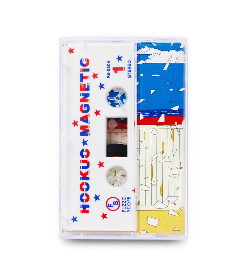 Hookuo / WDRW - Magnetic [Cassette Tape + Sticker]-FUZZOSCOPE-Dig Around Records