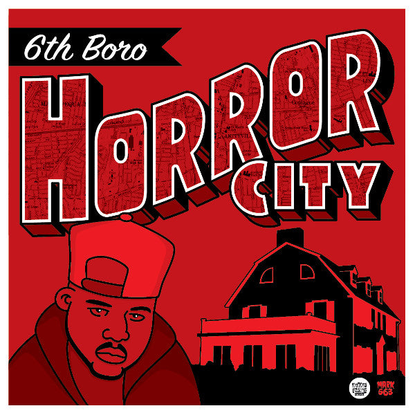 "Horror City - 6th Boro [Black] [Vinyl Record / 12""] - Dig Around Records"