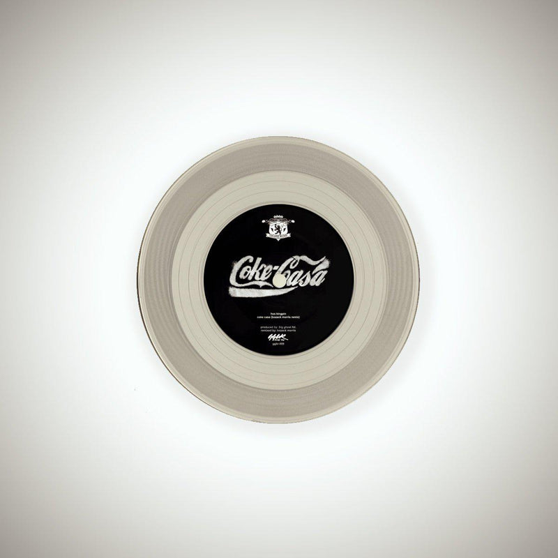 "Hus Kingpin - Cocaine Biceps Signature Label Collection [Coke Classic] [Vinyl Record / 7""]-GGBR Records & Tapes-Dig Around Records"