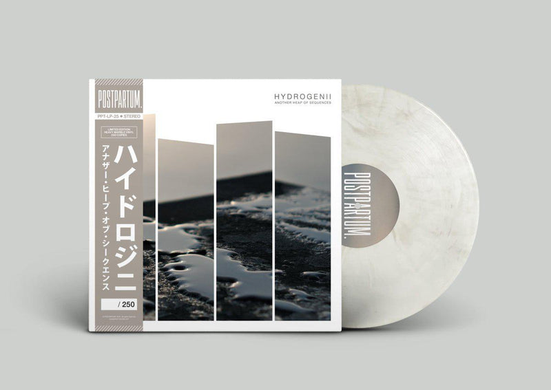 Hydrogenii - Another Heap Of Sequences [Marble] [Vinyl Record / LP + Download Code + Sticker + Obi Strip]-POSTPARTUM. RECORDS-Dig Around Records