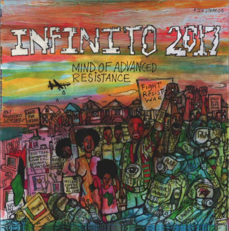 Infinito 2017 - Mind Of Advanced Resistance [Vinyl Record / LP]-Lowtechrecords-Dig Around Records