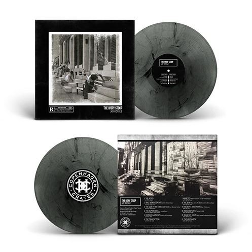 Jay Royale - Ivory Stoop [Ultra clear/gray/black marbled] [Vinyl Record / LP] - Dig Around Records