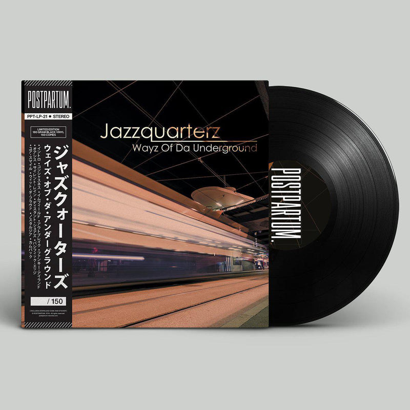 Jazzquarterz - Wayz Of Da Underground [Black] [Vinyl Record / LP + Download Code + Sticker + Obi Strip]-POSTPARTUM. RECORDS-Dig Around Records
