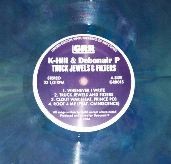 "K-Hill & Debonair P - Truck Jewels & Filters [Vinyl Record / 12""] - Dig Around Records"