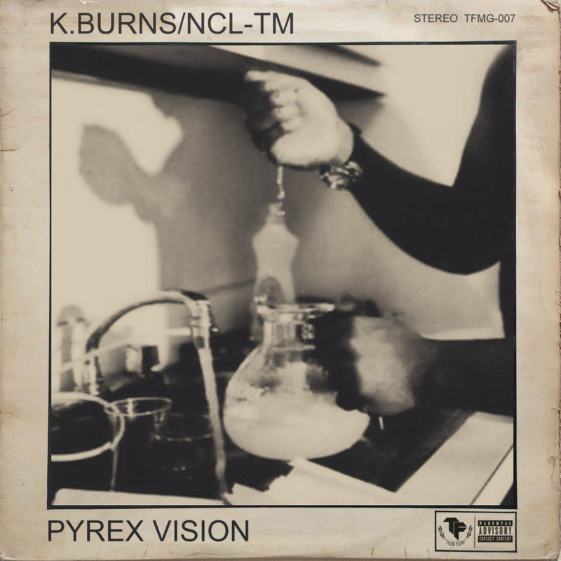 K.BURNS & NCL-TM - PYREX VISION [CD]-Team Fame Music Group LLC-Dig Around Records