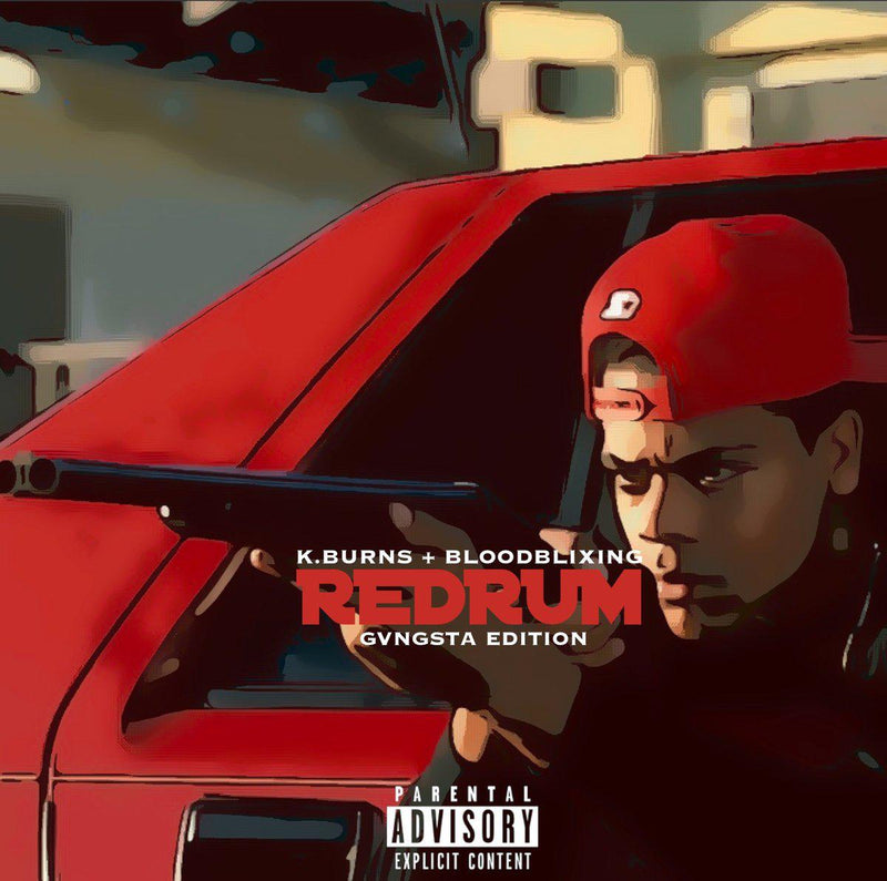 K.Burns & Bloodblixing - Redrum [CD]-Team Fame Music Group LLC-Dig Around Records