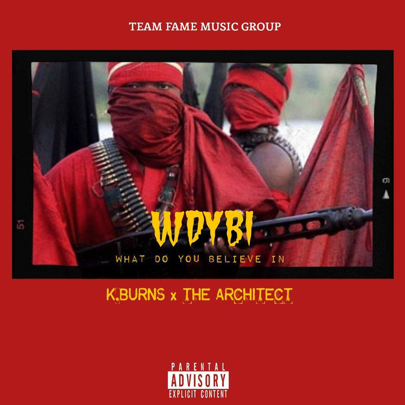 K.Burns & The Architect - WDYBI [CD]-Team Fame Music Group LLC-Dig Around Records
