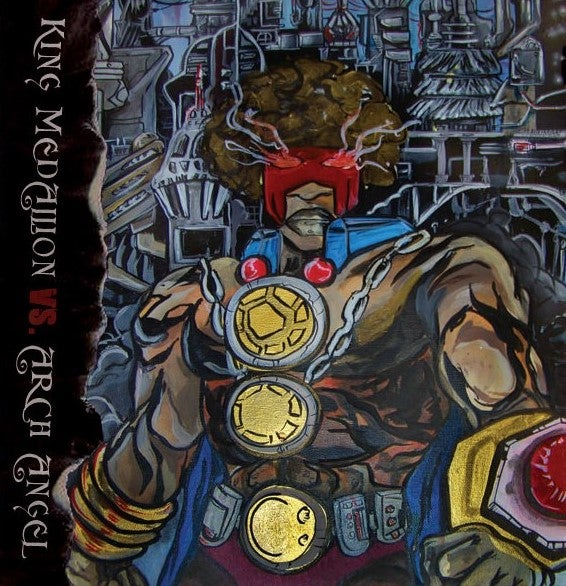 KING MEDALLION VS ARCH ANGEL - BLAK MAJIK [CD]-HIP-HOP ENTERPRISE-Dig Around Records