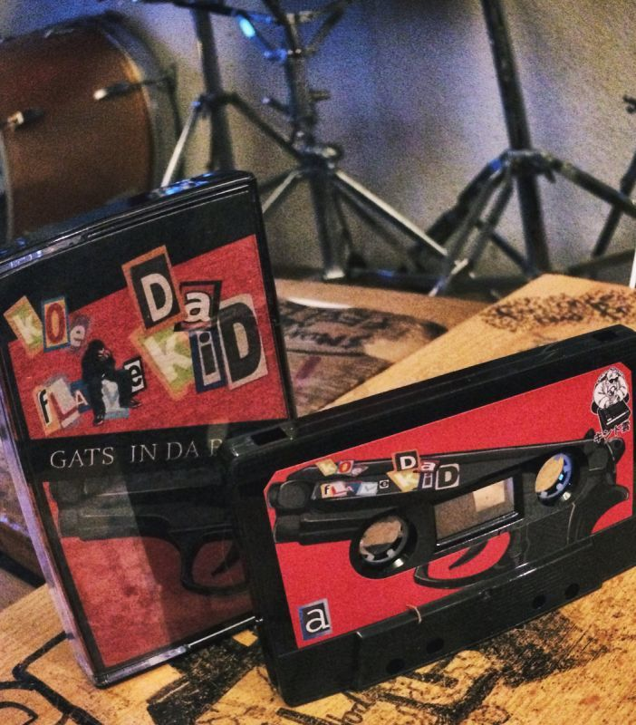 KOE DA FLAVEKID - GATS IN DA BACK [Cassette Tape]-JINDUJUN RECORDS-Dig Around Records
