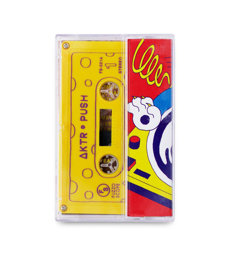 ΔKTR - Push [Cassette Tape + Sticker]-FUZZOSCOPE-Dig Around Records