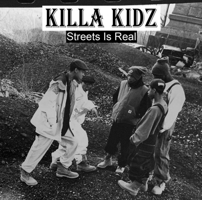 Killa Kidz - Streets is Real [CD]-Chopped Herring Records-Dig Around Records