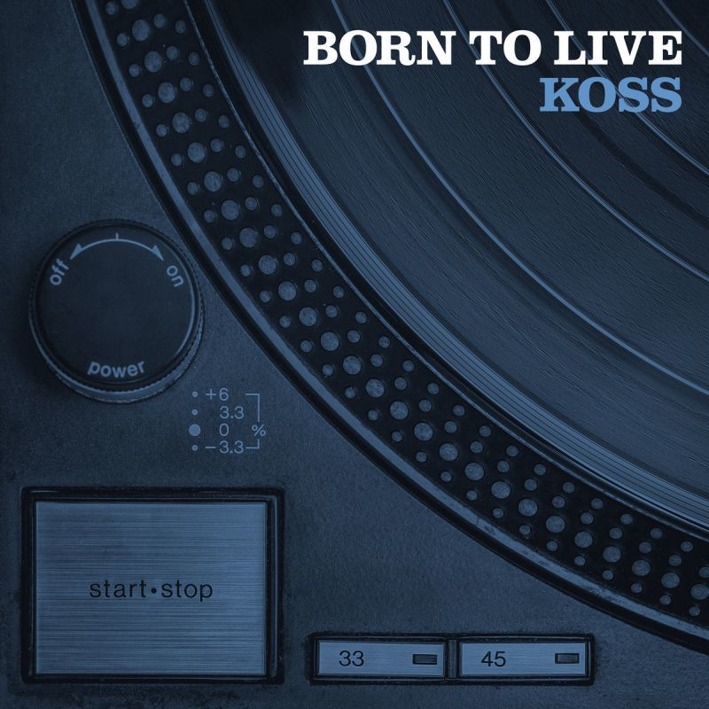 Koss - Born To Live [CD]-Below System Records-Dig Around Records