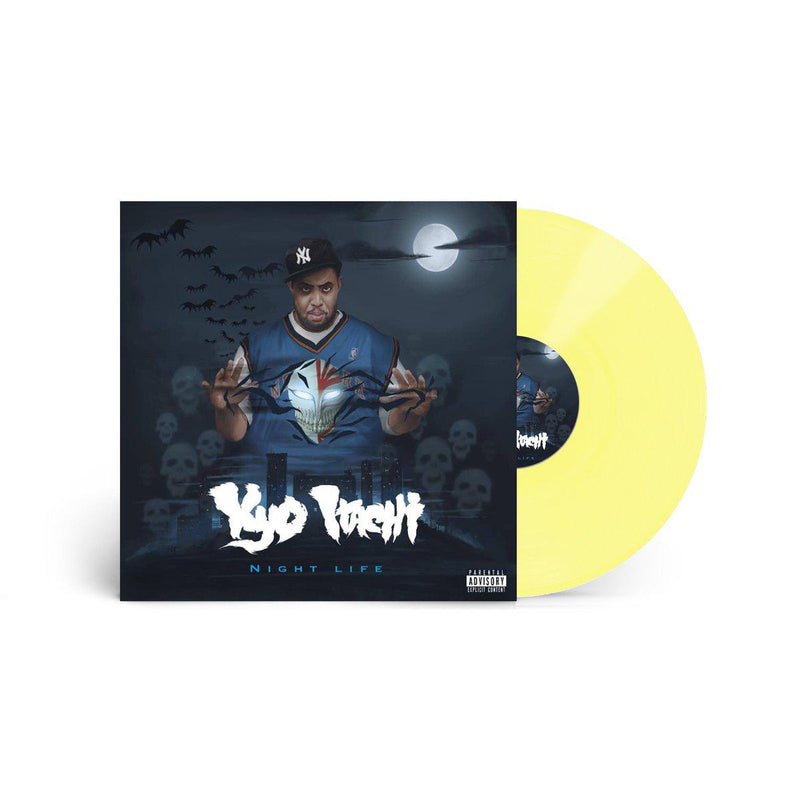 Kyo Itachi - Night Life [Yellow] [Vinyl Record / LP]-De Rap Winkel Records / Shinigamie Records-Dig Around Records