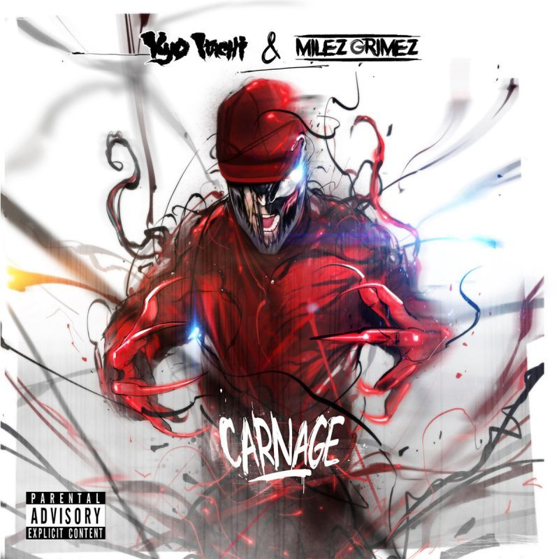 Kyo Itachi & Milez Grimez - CARNAGE [CD]-Shinigamie Records-Dig Around Records