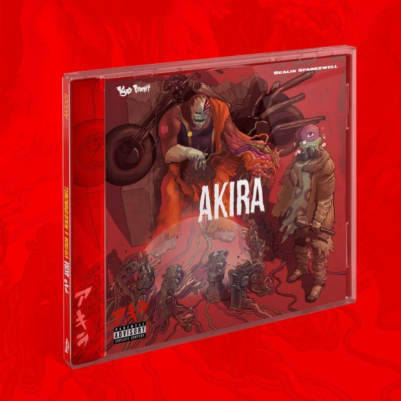 Kyo Itachi & Realio Sparkzwell - AKIRA [CD]-De Rap Winkel Records / Shinigamie Records-Dig Around Records