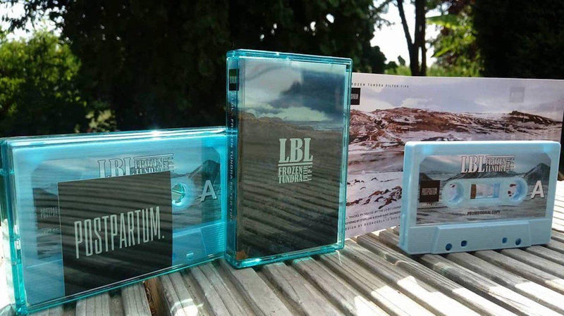 LBL (Lo-Bit Loopers) - frozen tundra filter tips [Promo] [Cassette Tape + Sticker]-POSTPARTUM. RECORDS-Dig Around Records