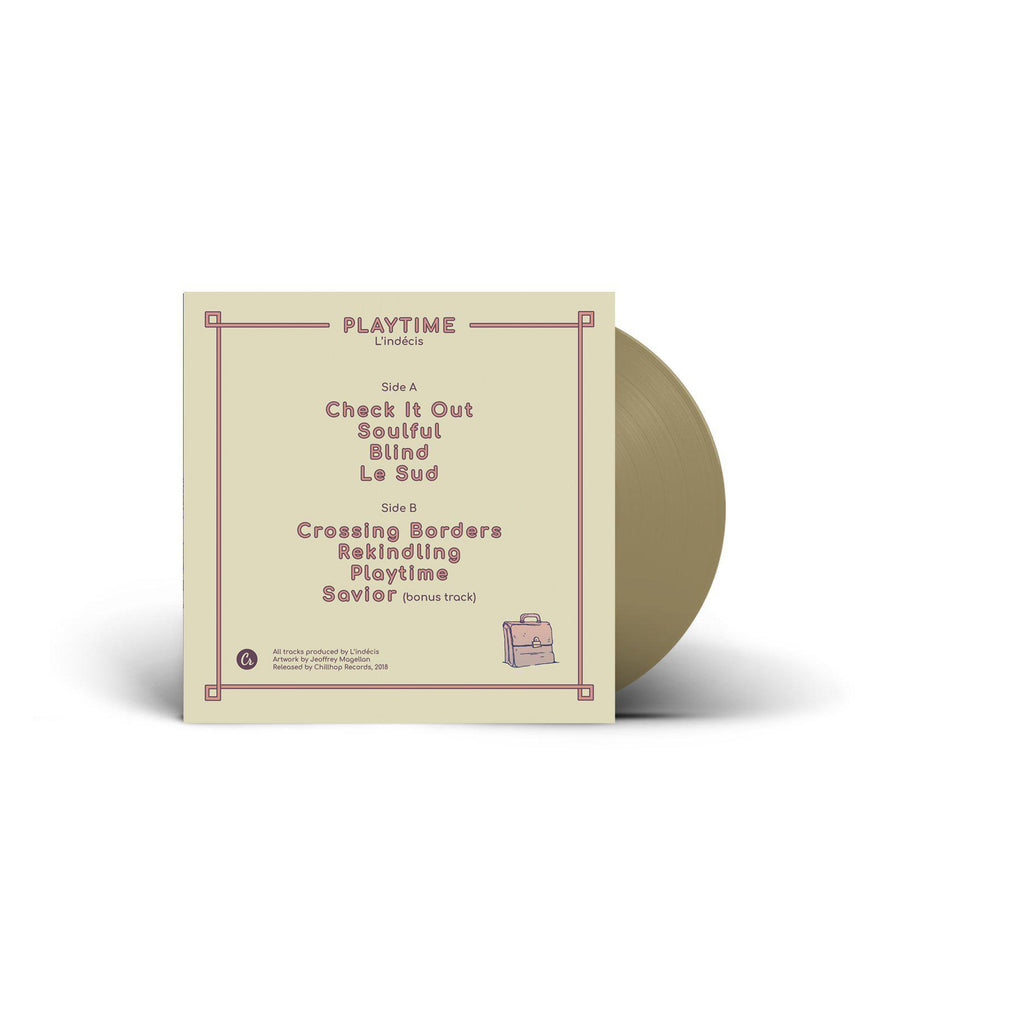 "L'indecis - Playtime [Repress / Gold] [Vinyl Record / 12""] - Dig Around Records"
