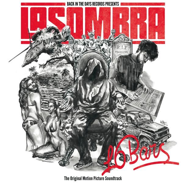 La Sombra - 16 BARS [Vinyl Record / LP + T-Shirt] - Dig Around Records