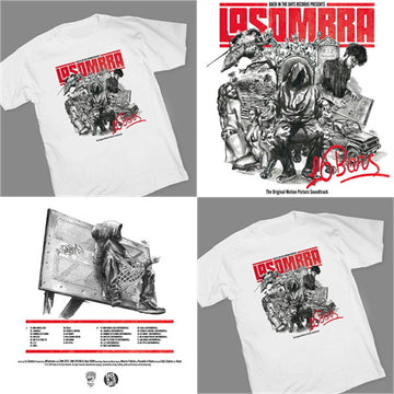 La Sombra - 16 BARS [Vinyl Record / LP + T-SHIRT]