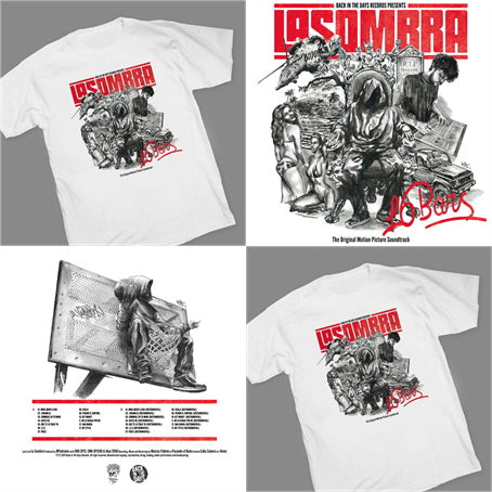 La Sombra - 16 BARS [Vinyl Record / LP + T-Shirt]-Back In The Days Records-Dig Around Records