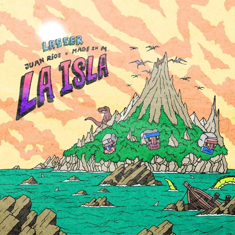 Lasser - La Isla [CD]-Guayaba Records-Dig Around Records