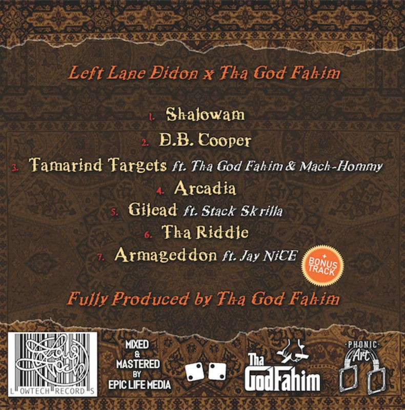 Left Lane Didon X Tha God Fahim - Dumpacalypse Now [BROWN] [Vinyl Record / LP]-Lowtechrecords-Dig Around Records