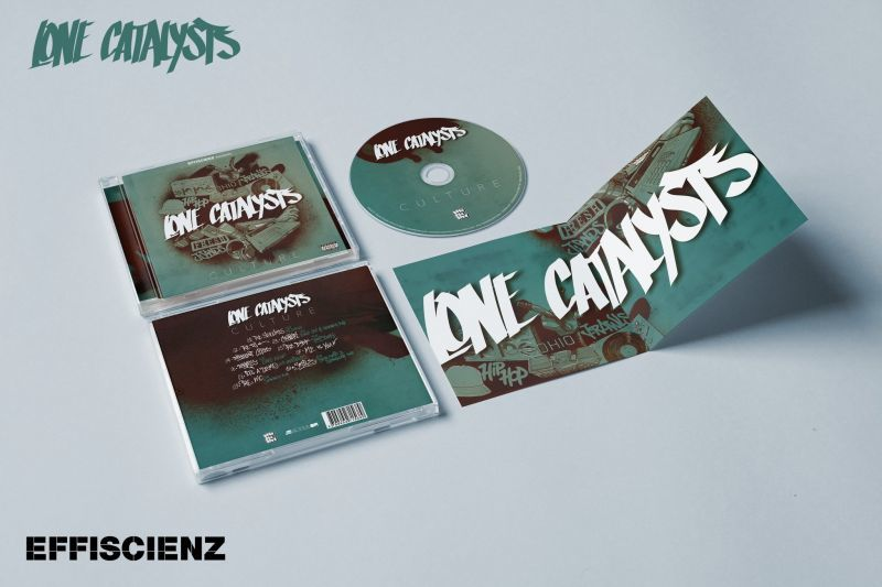 Lone Catalysts - Culture [CD + Sticker]-EFFISCIENZ-Dig Around Records