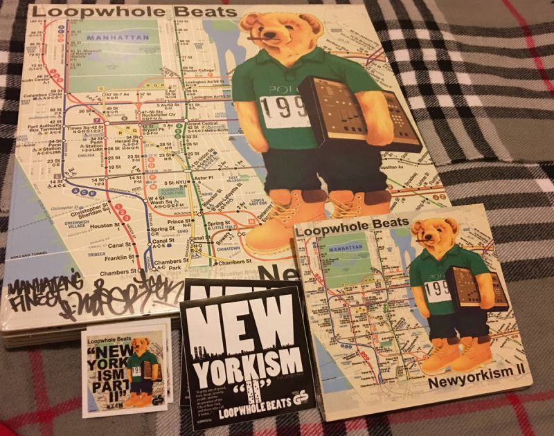 Loopwhole Beats - NEWYORKISM pt. II (Signed Vinyl) [Vinyl Record / LP + CD]-Golden Souns Records-Dig Around Records