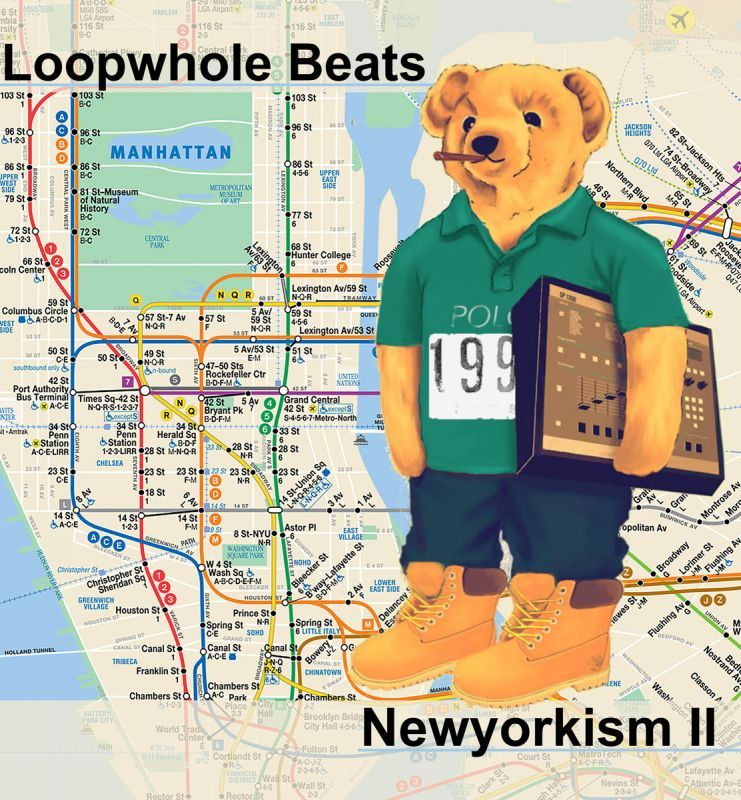 Loopwhole Beats - NEWYORKISM pt. II [CD]-Golden Souns Records-Dig Around Records