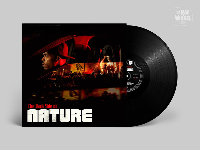 M.A.V. & Rob Gates - The Dark Side Of Nature [Classic Black] [Vinyl Record / LP]