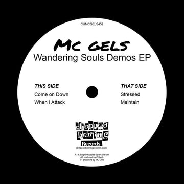 "MC Gels - Wandering Souls Demos [Black] [Vinyl Record / 7""]"