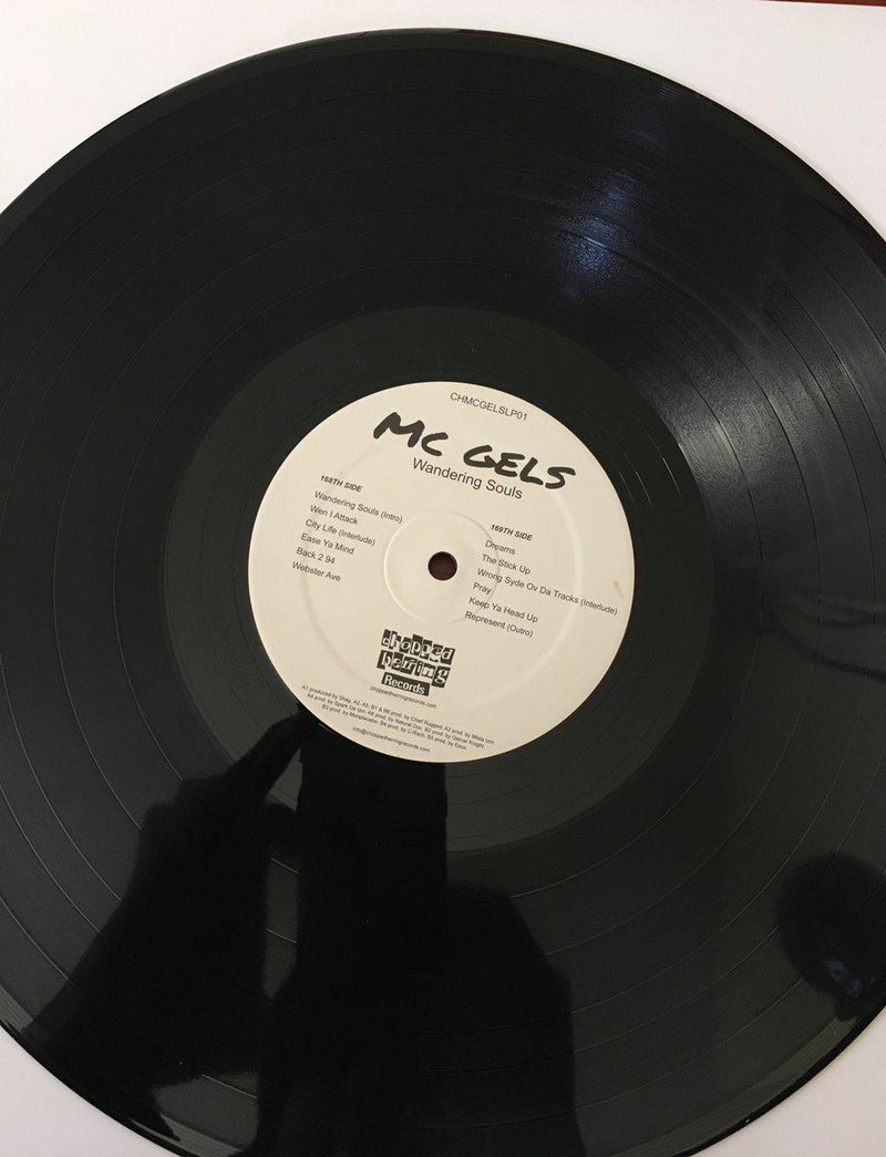 MC Gels - Wandering Souls [Vinyl Record / LP]-Chopped Herring Records-Dig Around Records