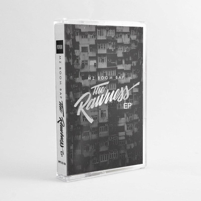 MZ Boom Bap - The Rawness EP [Cassette Tape + Sticker]-POSTPARTUM. RECORDS-Dig Around Records
