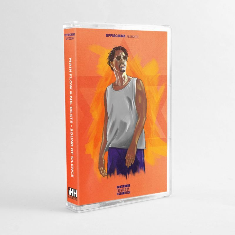 Main Flow x Mil Beats - Sound Of Silence [Cassette Tape]-EFFISCIENZ-Dig Around Records