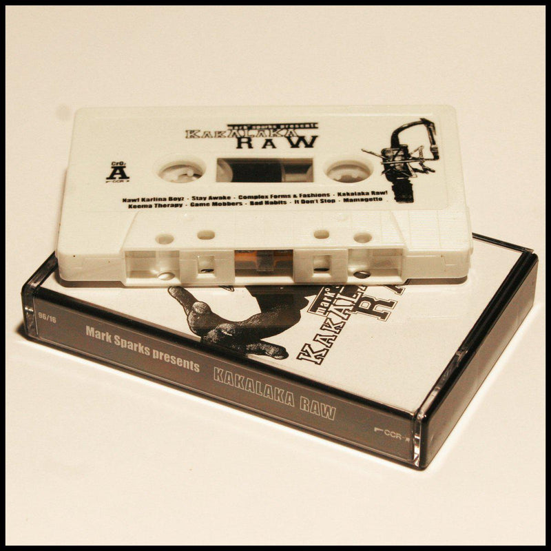 Mark Sparks - Mark Sparks presents Kakalaka Raw [Cassette Tape]-Crooked Cat Records-Dig Around Records