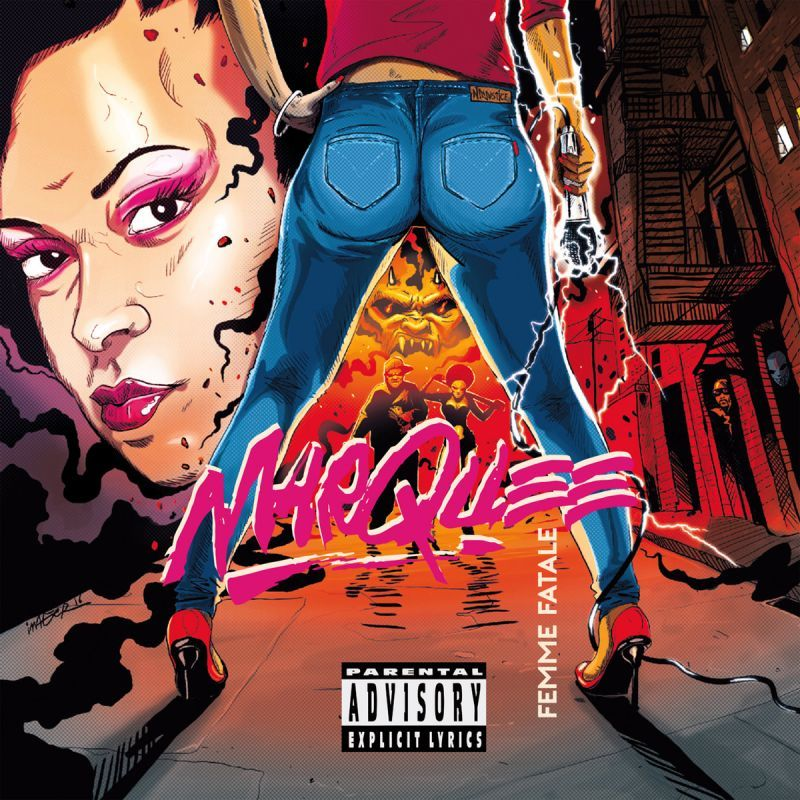 Marquee / Ninjustice - Femme Fatale [CD]-Marvel Records / Shinigamie Records-Dig Around Records