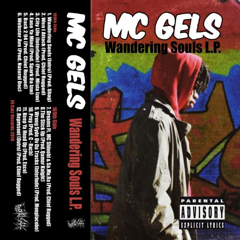 Mc Gels - Wandering Souls [Cassette Tape]-Ill Catz Records-Dig Around Records