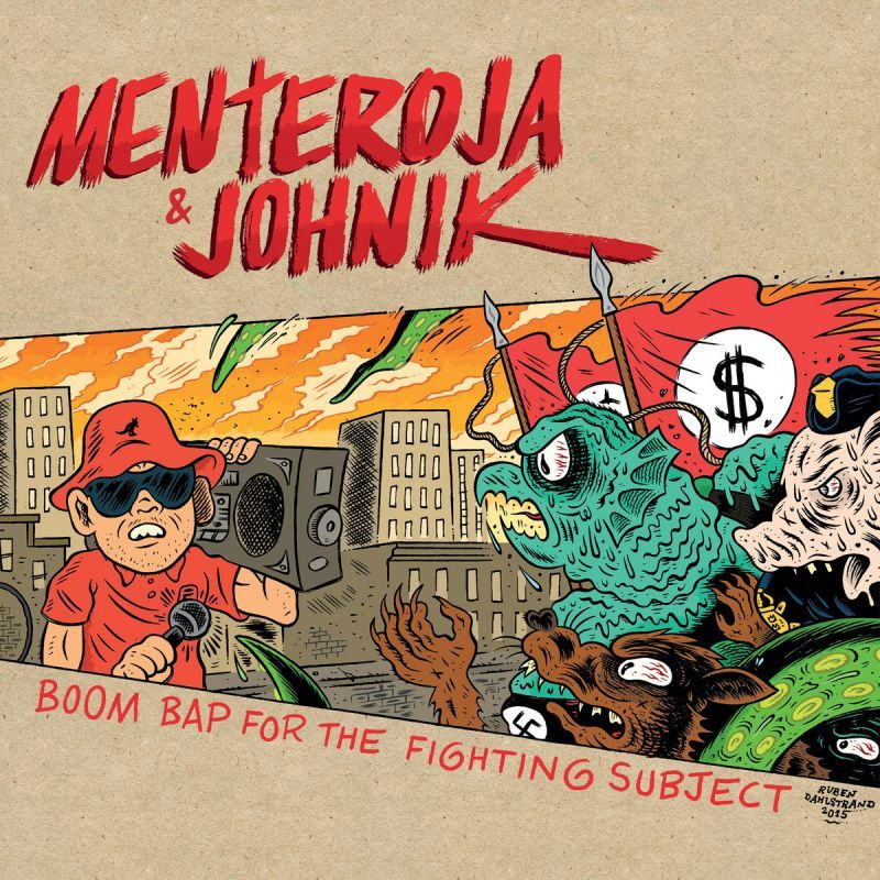Menteroja & Johnik - Boom Bap for the Fighting Subject [Vinyl Record / LP]-Not On Label-Dig Around Records