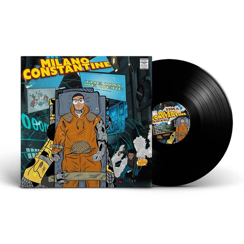 Milano Constantine - The Way We Were [Black] [Vinyl Record / LP]-Slice-of-Spice / Different Worlds Music Group-Dig Around Records