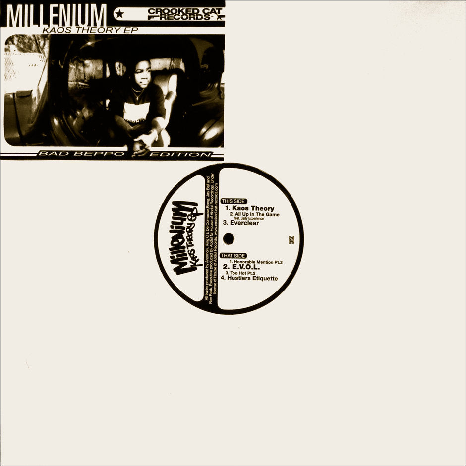"Millenium - Kaos Theory EP [Vinyl Record / 12""] - Dig Around Records"