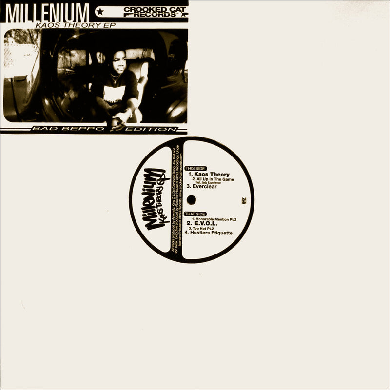 "Millenium - Kaos Theory EP [Vinyl Record / 12""]-Crooked Cat Records-Dig Around Records"