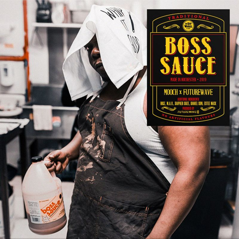 Mooch & Futurewave - Boss Sauce [Black] [Vinyl Record / LP] - Dig Around Records