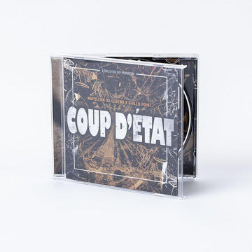 NAPOLEON DA LEGEND & GIALLO POINT - Coup D'État [CD]