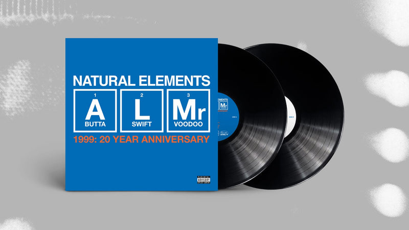 NATURAL ELEMENTS - 1999: 20 YEAR ANNIVERSARY [Black] [Vinyl Record / 2 x LP]-HIP-HOP ENTERPRISE-Dig Around Records