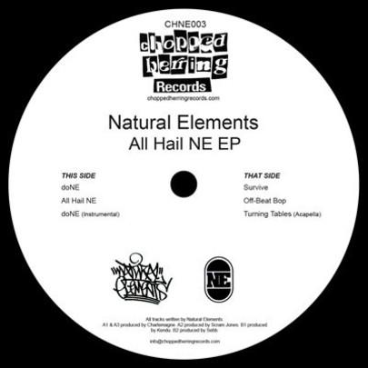 "Natural Elements - All Hail Ne EP [Vinyl Record / 12""]-Chopped Herring Records-Dig Around Records"
