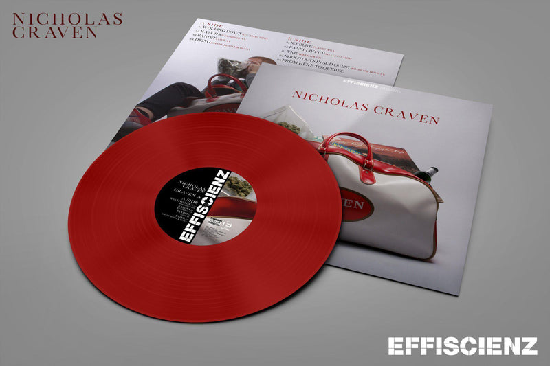 Nicholas Craven - Craven N [Red] [Vinyl Record / LP + Sticker]-EFFISCIENZ-Dig Around Records